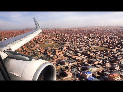 LATAM A320 Landing La Paz Bolivia