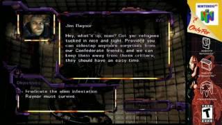 (N64) Starcraft 64 Terran Campaign missions 1 & 2 S-video