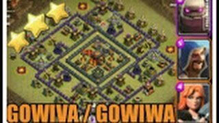 gowiwa gowiva walkren valkyrie ck rh10 th10 vs rh10 th10 3 sterne coc clash of clans deutsch german