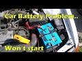 Toyota Starlet Car battery Problem, Tudor Dual Marine broke down, CTEK charger
