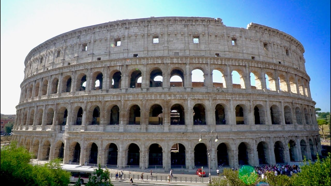 COLOSSEUM & FORUM TOUR!