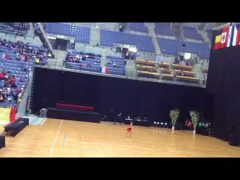 Danique Visker WK 2018 Dance