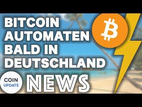 Bitcoin Automaten demnächst in Deutschland   Verge, Ethereum, Roger Ver - Bitcoin News 14.05.2018