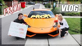 Asking a Girl to Prom with a Lamborghini! (Promposal)