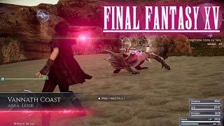 Official Death Spell Gameplay - Final Fantasy XV