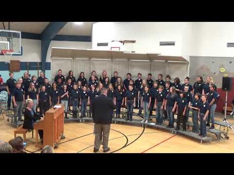 CS Porter Middle School 6th Grade Choir - Glorificamus Te