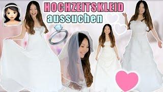 HOCHZEITSKLEID Live Test 👰🏻 günstig vs teuer | Brautkleid Anprobe unter 100€ | Mamiseelen