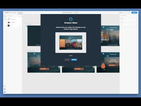 Amazon Alexa Integration for Adobe XD | Adobe Creative Cloud