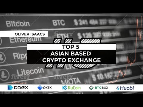 Top 5 Asian Crypto Exchanges