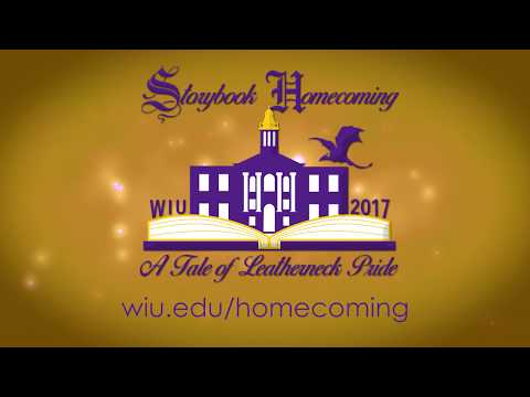 Celebrate Homecoming 2017 at Western Illinois University!
