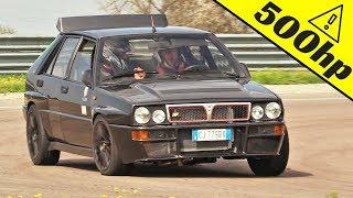 500hp Lancia Delta Integrale 16v - Onboard, Actions & Pure Sound at Autodromo di Modena