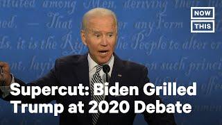 Debates 2020: Watch Biden Rip Into Trump for 3 Minutes | NowThis