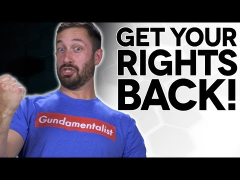 Get Your 2A Rights Back! - The Legal Brief