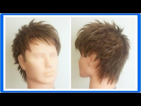 メンズ髪型 ウルフカットの切り方|那覇市メンズ美容室