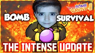 Soo Many BOMBS! - Roblox Super Bomb Survival