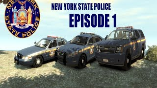 GTA IV LCPDFR: Patrol 30 - New York State Police - Episode 1