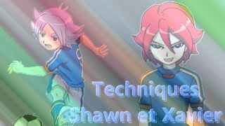 4) Shawn Frost et Xavier Foster (HD) / Fubuki and Hiroto - Inazuma Eleven Techniques / All Hissatsu