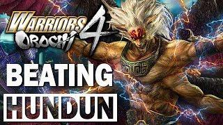 Defeating HUNDUN 3 Times in a Row [Pandemonium Difficulty S Rank] | Warriors Orochi 4 『無双OROCHI3』