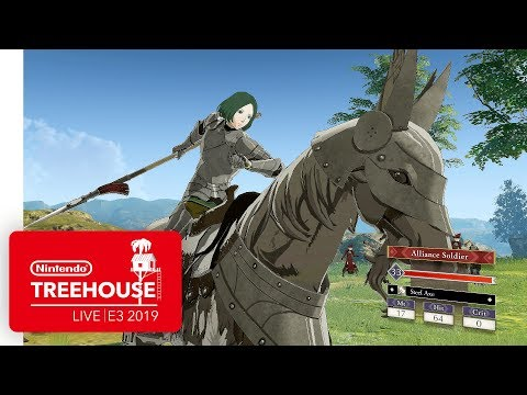 Fire Emblem: Three Houses Gameplay Showcased in New Trailer