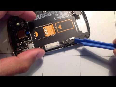 Blackberry 9900 Screen Replacement Guide