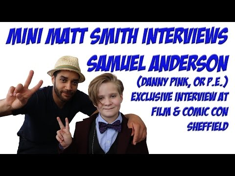Interview with Samuel Anderson (Danny Pink Doctor Who)