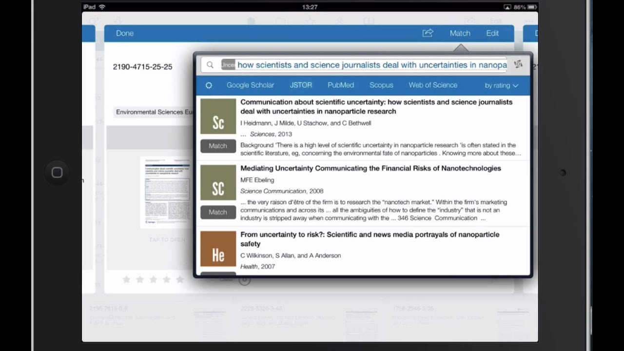 how to sync papers mac and ipad