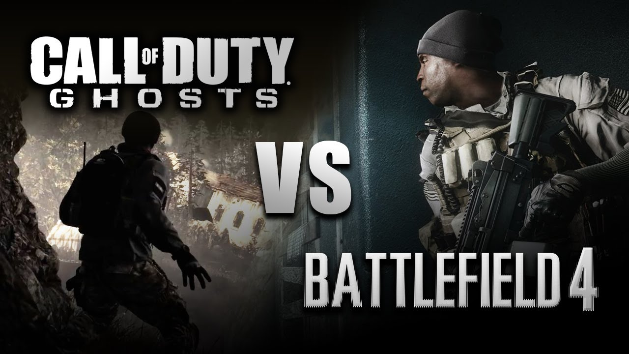Call of Duty (COD): Ghosts vs Battlefield 4 (BF4) Graphics ...