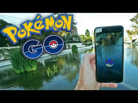 POKEMON EN BEVERLY HILLS! Pokemon GO - [LuzuGames]
