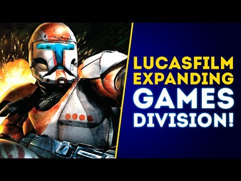 Lucasfilm OFFICIALLY Expanding Games Division! New Star Wars Games Coming! thumbnail