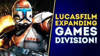 Lucasfilm OFFICIALLY Expanding Games Division! New Star Wars Games Coming!