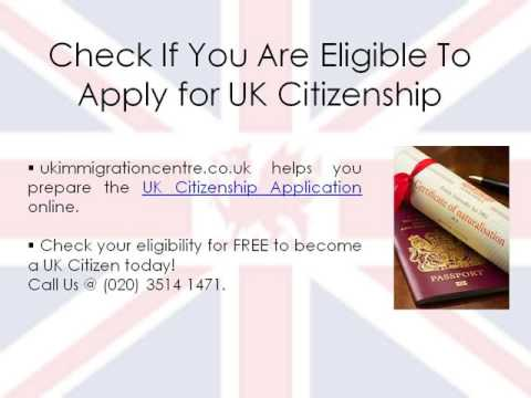 Requirements to Apply for UK Citizenship