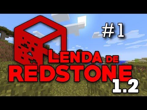 Lenda de Redstone 1.2 (Ep.1) - Mega Modpack :D