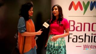 MYNTRA TV CATCHES UP WITH MISS MALINI @ BFW'14 – DAY 3
