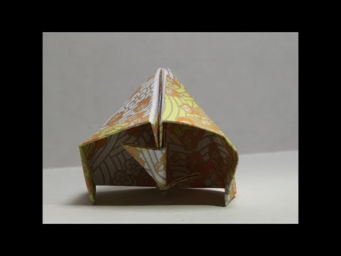How To Make An Origami Pet Hermit Crab Hermie