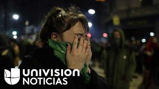 En un minuto: El Senado argentino rechaza despenalizar el aborto