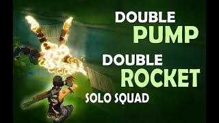 Solo vs. SQUADS! - DOUBLE PUMP | DOUBLE ROCKET