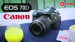 Фотоаппарат зеркальный Canon EOS 70D Kit 18-55 IS STM Black(Подробнее на http://www.mvideo.ru/products/10005035?reff=youtube_Canon_70_D Сохраняйте важные моменты жизни, делая потрясающие снимки..., 2013-09-04T14:07:18.000Z)