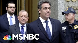Tim O'Brien: President Trump And Michael Cohen Are Like Two Dogs In A Burlap Bag | AM Joy | MSNBC