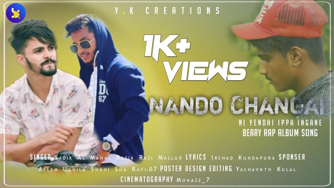 Download Nando Changai Beary Rap Album Song Y.K Creations