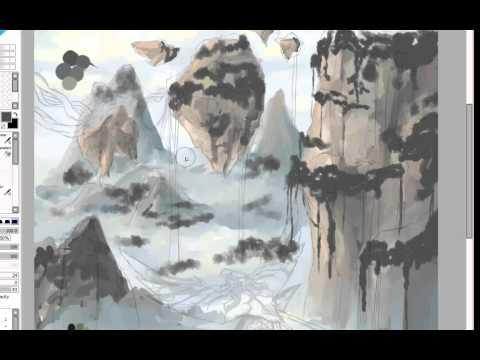 Pandora Landscape Speedpaint