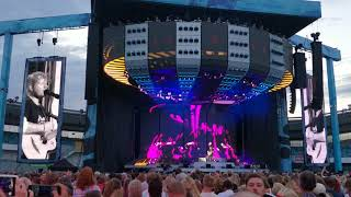 Ed Sheeran - Sing (Live) Sweden Gothenburg Ullevi 10 Juli (4K)