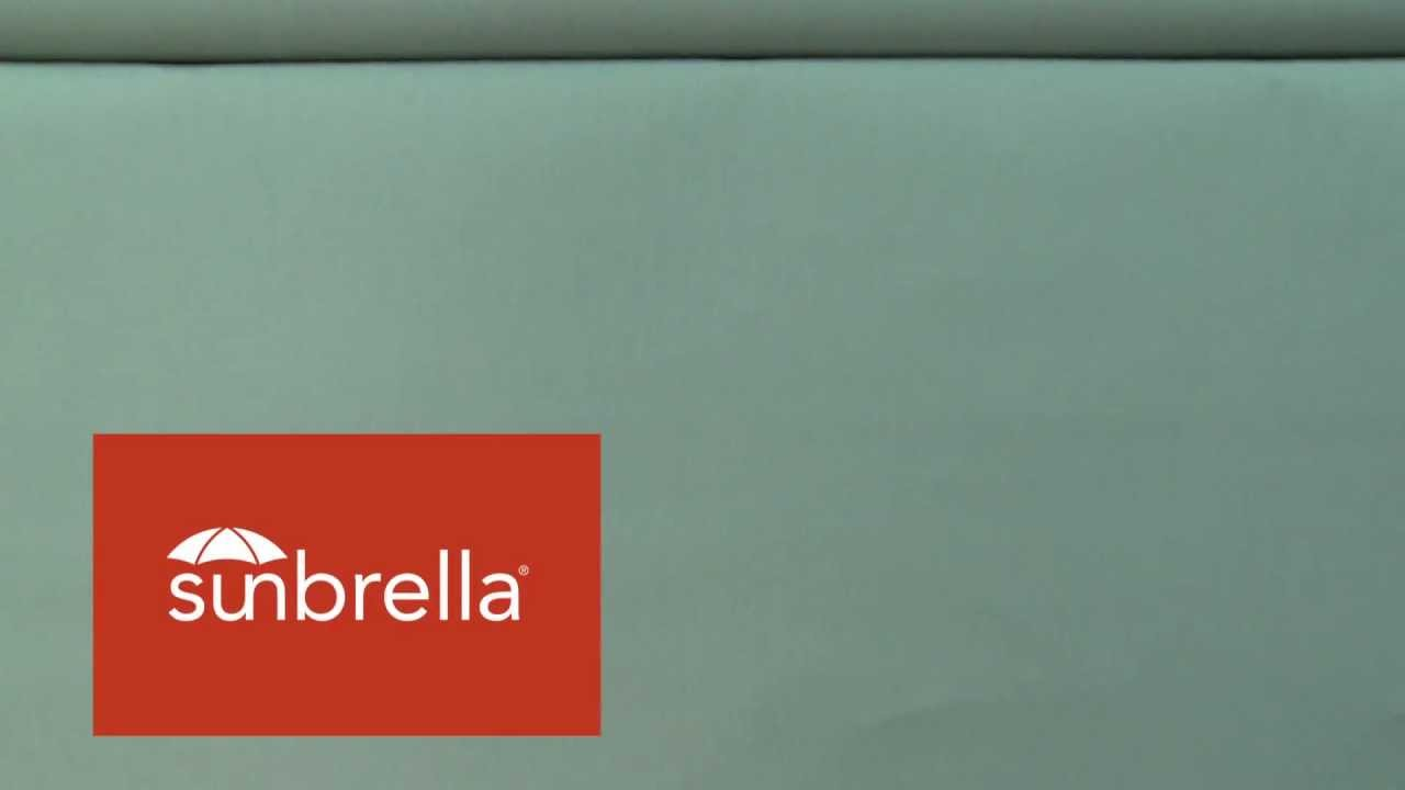 Video Of Sunbrella Canvas Spa 5413 0000 Furniture Fabric