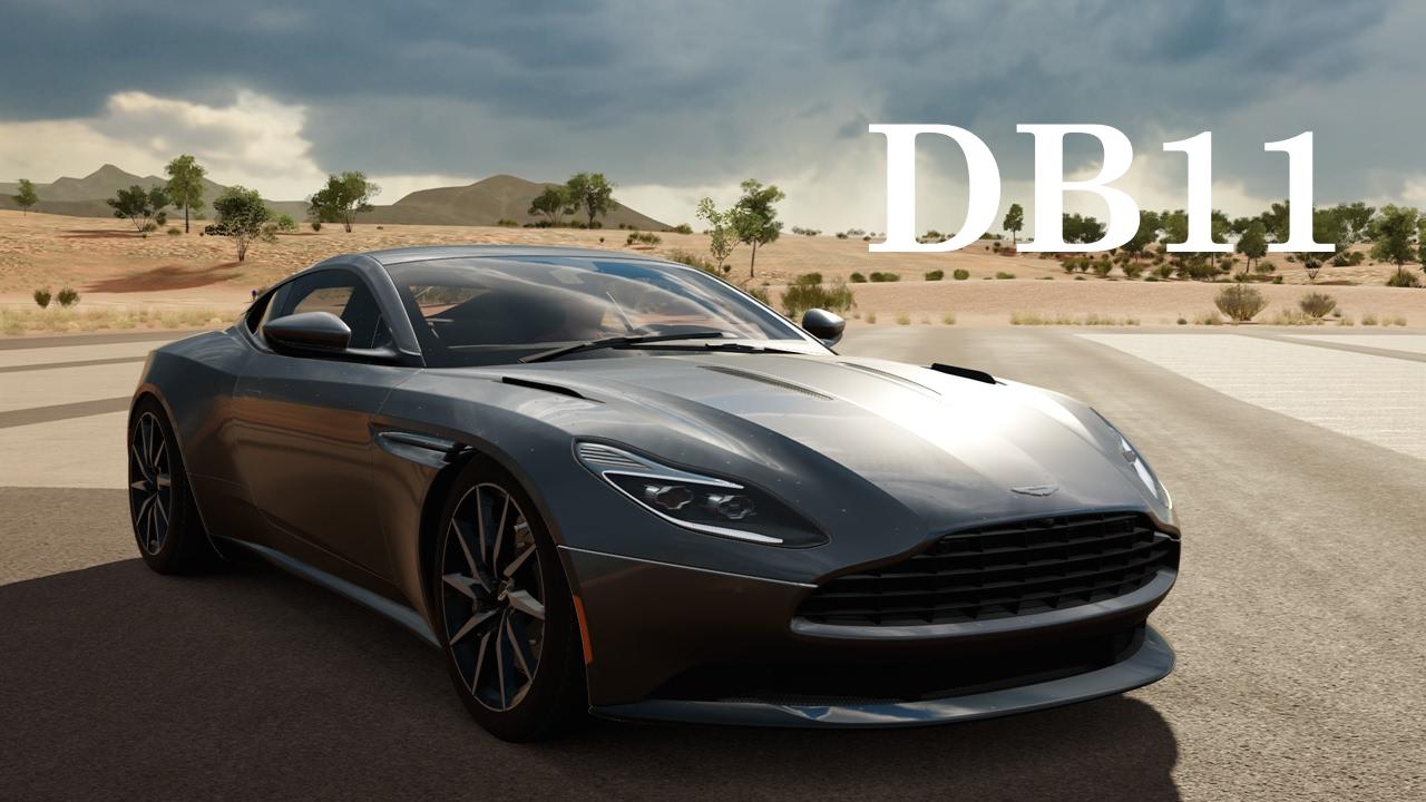 forza horizon 3 2017 aston martin db11 gameplay (playseat car pack