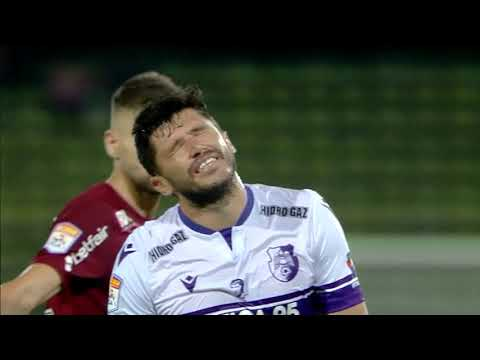 FC Arges CFR Cluj Goals And Highlights