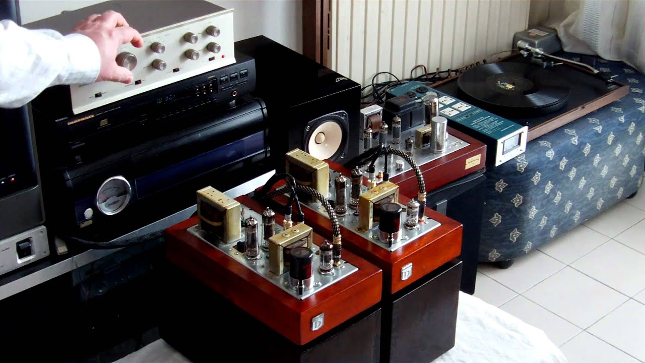Dynatron Lf13 Dual Mono Tube Stereo Amplifier 1959 Youtube 10w 6l6 Push Pull