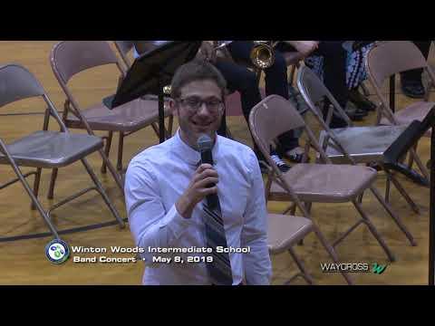 Winton Woods Intermediate School Band Concert of May 8, 2019