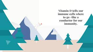 Why we need Vitamin D - especially during an immune crisis