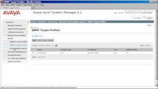 How To Configure System Manager And Session Manager 6.2 Serviceability Agent With Your NMS