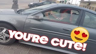FLIRTING IN TRAFFIC! | 2017 Funny Moments Compilation (KEEF CHEEF) *Part 1*
