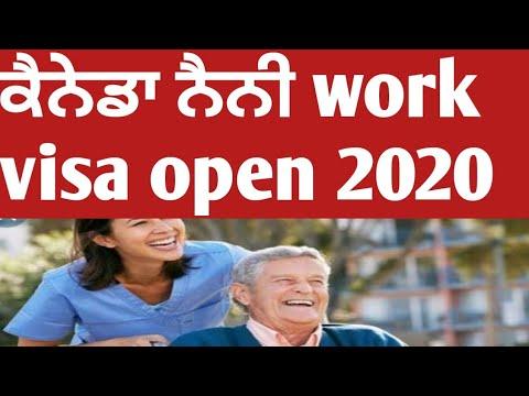 Nanny Canada Work Visa Process 2020.
